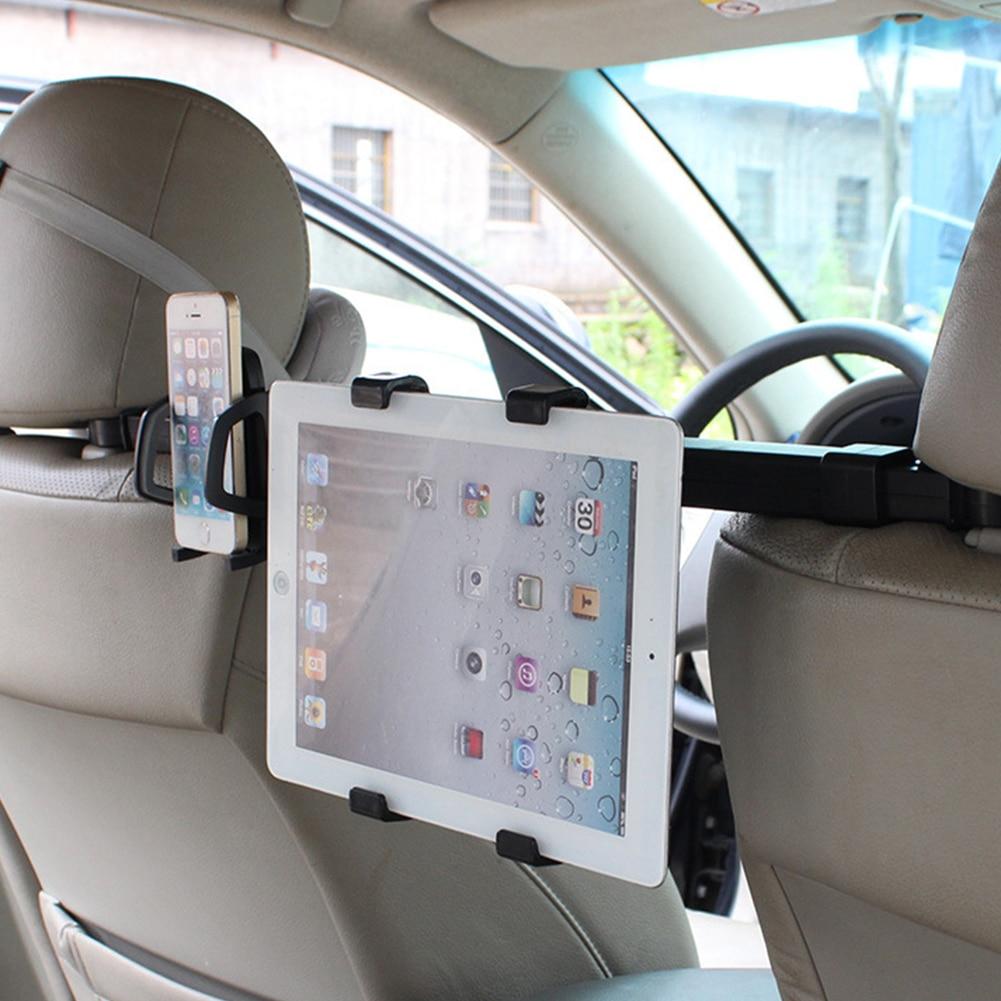 car back seat headrest mount holder stand bracket tablet stand kit 7 10 inch for iphone6. Black Bedroom Furniture Sets. Home Design Ideas