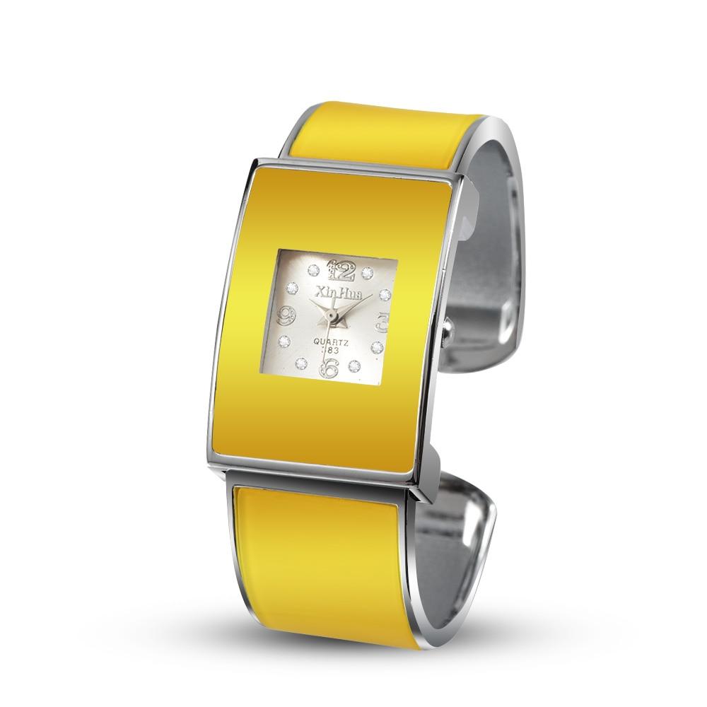 Fashion Bracelet Watch Cute Women's Watches Ladies Yellow Wrist Watches Clock Relogio Feminino Bayan Kol Saati Zegarek Damski