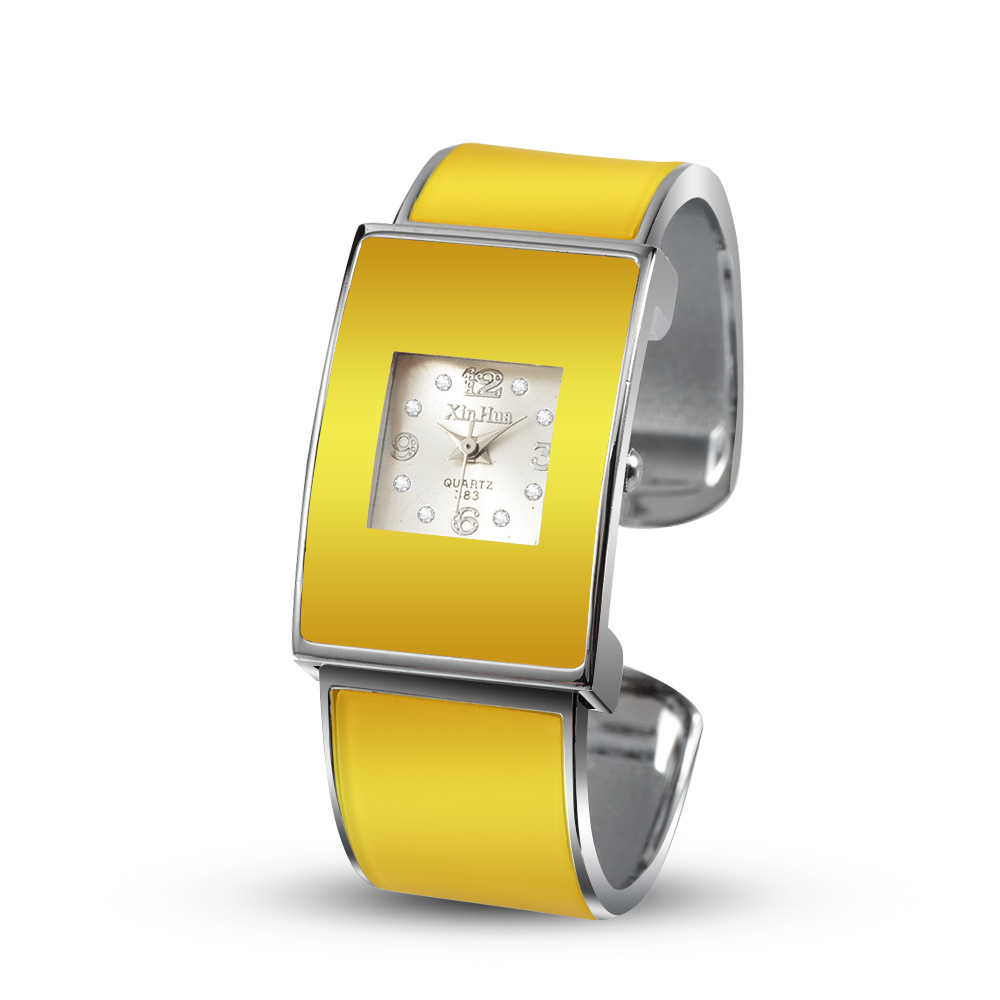 Fashion Bracelet Watch For Women 2018 Women's Bracelet Watches Ladies Luxury Yellow Wrist Watches Clock relogio feminino