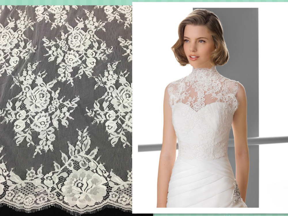 Guipure allover lace african swiss voile lace High quality for Wedding dress synthetic lace front <font><b>wig</b></font> apparel sewing & fabric image