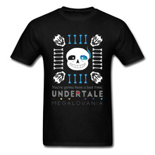 Undertale Sans T Shirt Punisher Game Tshirts 3D Print DnD Funny T-Shirts For Men 100% Cotton Clothes Spring Tees