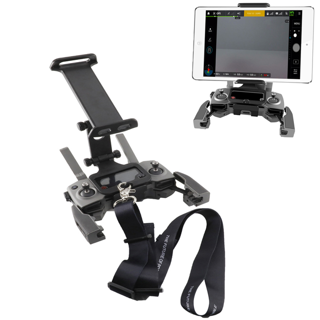 Mavic Fernbedienung telefon tablet halterung & Neck Strap Für DJI Mavic 2 pro & zoom/pro 1/ luft/funken/mavic mini Drone
