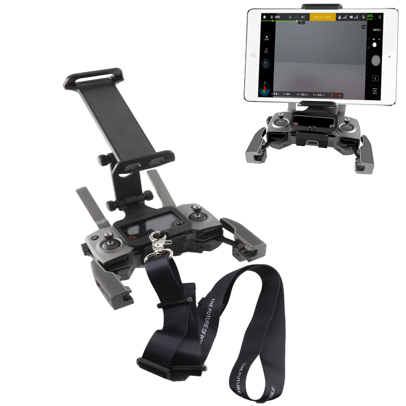 Mavic Remote Controller Phone Tablet Bracket & Neck Strap For DJI Mavic 2 Pro & Zoom / Pro 1 / Air /spark / Mavic Mini Drone
