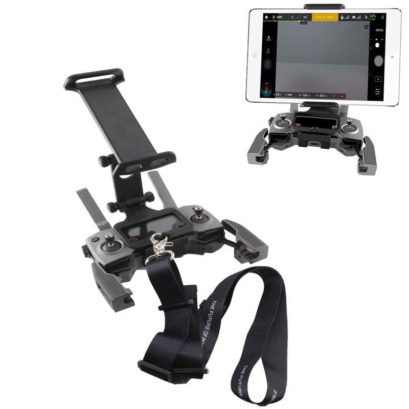 Mavic Remote Controller Phone Tablet Bracket & Neck Strap For DJI Mavic 2 Pro & Zoom / Pro 1 / Air /spark / Mavic Mini Drone