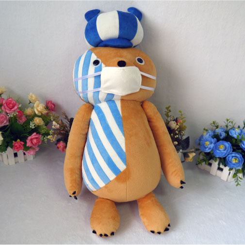Perona Kumasy cosplay plush toy anime One piece Kumasy pet bear plush doll 60cm soft high