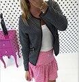 2016 Hot Sale Casual Women Hooded Long Outerwear Coat Slim Zipper Long Sleeve Jacket C119