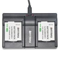 DMW BCM13E DMW BCM13 BCM13 Battery USB 2 Channal Dual Charger For Panasonic Lumix ZS40 TZ60