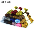 JUP 1 Pair Length 70 -150 cm Round Shoelaces Martin Boots Bootlaces Striped Shoe Laces Athletic Shengdai Shoestring String