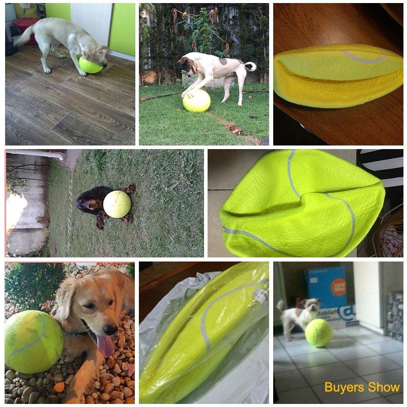 24CM γιγαντιαία μπάλα τένις για σκύλο - Προϊόντα κατοικίδιων ζώων - Φωτογραφία 6