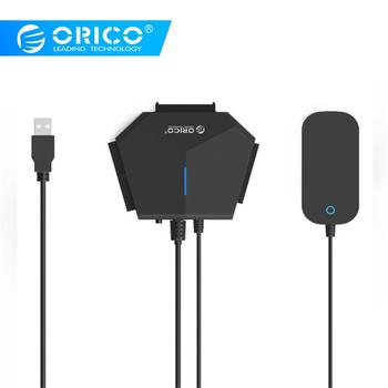 ORICO 2.5/3.5 inch SATA & IDE Hard Drive Adapter with USB3.0 Cable for Computer Laptop for MacOS for Windows 7/XP/10