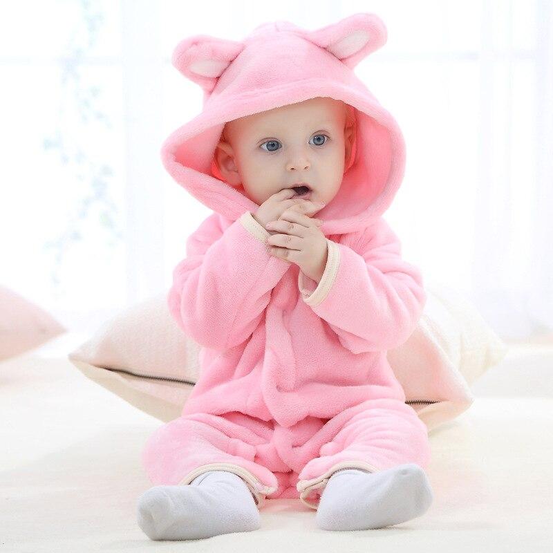 BURU 2018 tavaszi őszi baba ruhák flanel Baby Boy ruhák Cartoon ... 91fad2b8bf