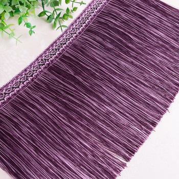 XWL 12M/lot 30cm Wide Curtain Trims Long Tassel Fringe DIY Sewing Stage Sofa Truck Decorative Lace Ribbon Curtain Accessories