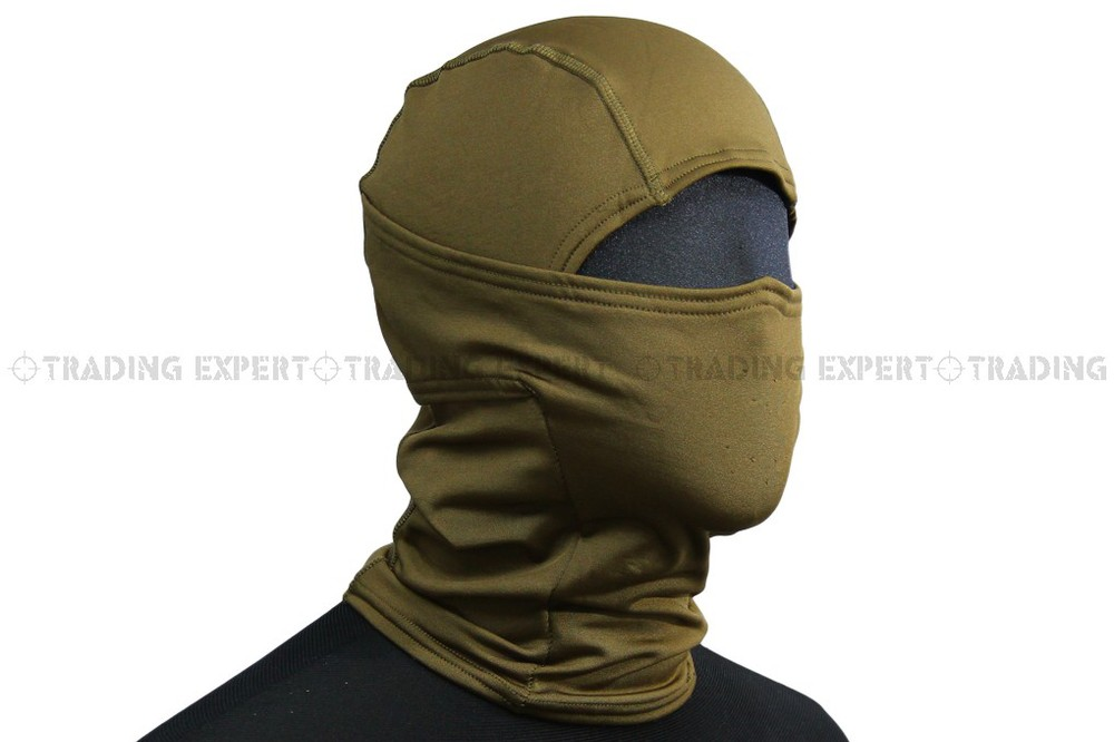 EMERSON face mask Fleece Warmer Hood (Coyote Brown) em6631b ...