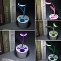 NEW USB Eye-care Anti-glare LED Light Desk Lamp Kids Touch-sensitive Dimmable 3 Level With Pen Holder