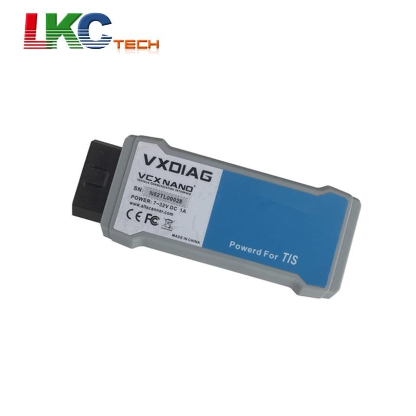 2018 Newest VXDIAG To yo ta TIS V10.30.029 Compatible With SAE J2534 VXDIAG VCX NANO OBD2 Diagnostic Tool Auto Scanner