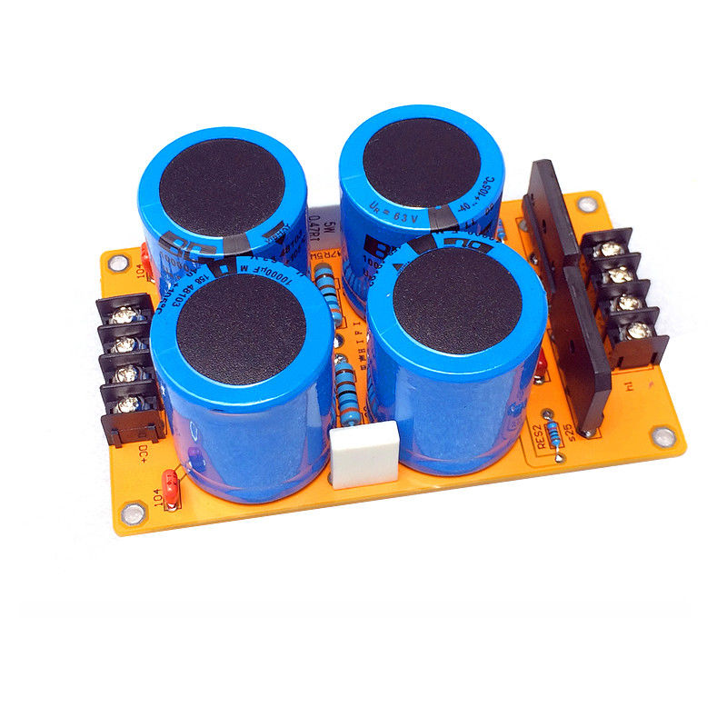 1969 Power Amplifier Rectifier Filter Board Single Power Supply Dual Groups high power amplifier single bridgerectifier filtering power supply board 25a