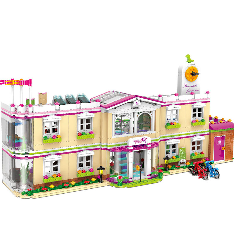 New DIY City Girl Friends School House The Happy Teaching Building Blocks Set Kits Toys for Children Compatible with LegoinglyNew DIY City Girl Friends School House The Happy Teaching Building Blocks Set Kits Toys for Children Compatible with Legoingly