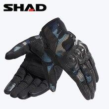 SHAD Motorcycle Gloves Men Motocross Gloves Full Finger Riding Motorbike Moto Gloves Motocross Guantes Gloves M XXL