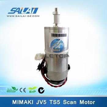 High Quality!! eco solvent printer dc servo motor for mimaki jv5 printer MK-JV5
