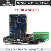 Ncstudio controlador 3 ejes nc studio tarjeta de control de sistema para el router cnc 5.4.49/5.5.55/5.5.60 versión en inglés