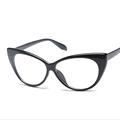 Мода Женщины Cat Eye Glasses Рамки кошачий Глаз Ясно Очки Дамы Очки Кадр Ретро женщин Очки Бренд Дизайнер