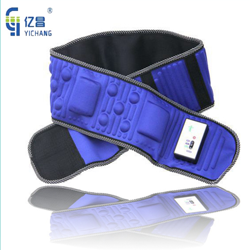Vibration Abdomen Massage Rejection Fat vibrating Body Lose Weight Electric Slimming Belt Speeding Up Metabolism Waist Slimming elastic thin slimming belt magic waist abdomen massage belt black