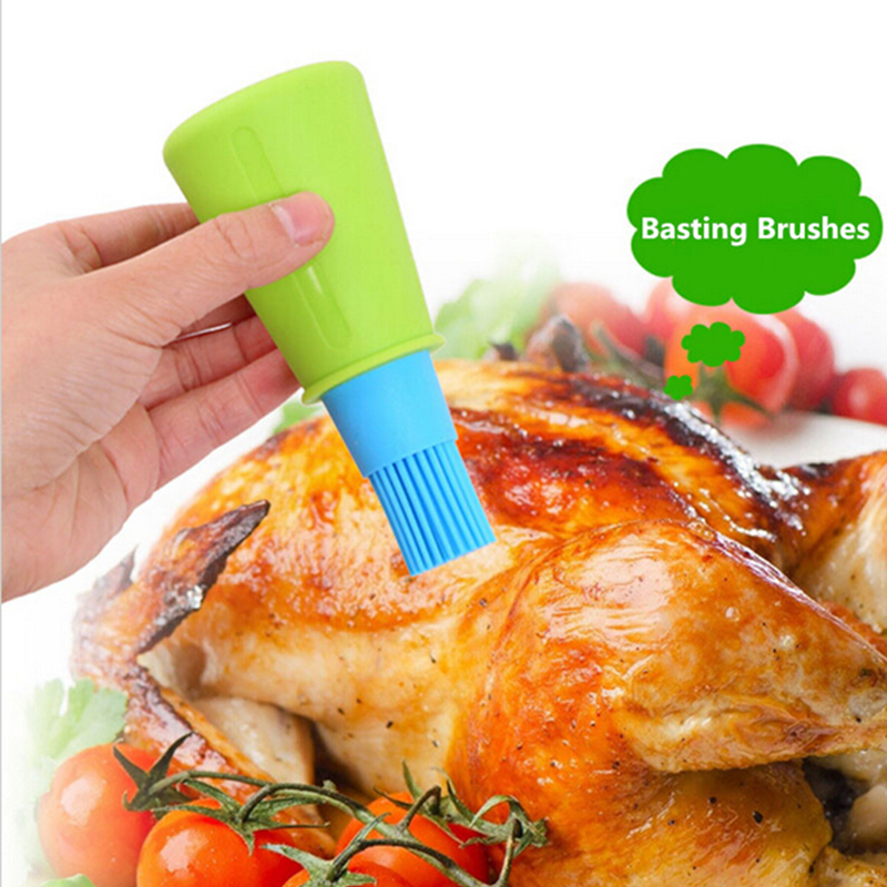 EH-LIFE Grill Tool Silicone BBQ Oil Brush Barbecue Cooking