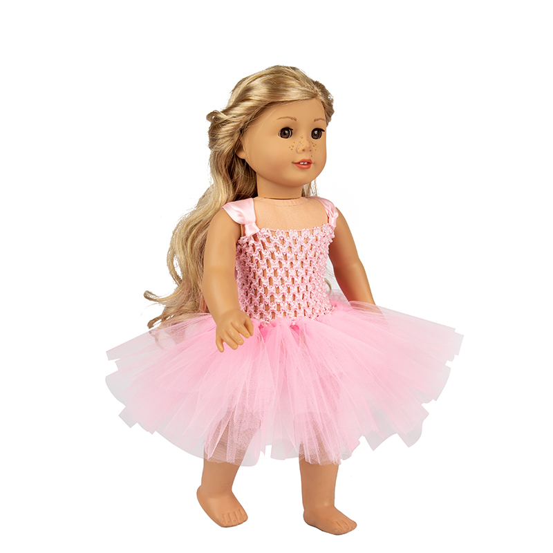 Born Baby Doll Clothes accessories Fit 18 inch 40cm 43cm Girl Crown Fairy Suit Skirt Suit Dress Skirt For Baby Birthday Gift in Dolls Accessories from Toys Hobbies