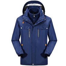 Winter Windbreaker Waterproof Camping Hiking Outdoor Jacket Men Climbing Ski Snowboard Coat Breathable Warm Jaqueta Masculina