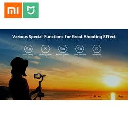 Oryginalny Xiaomi Mijia SJYT01FM 3-Axis Handheld stabilizator gimbal w 5000mAh baterii przez aparat działań sportowych i telefon Mix 2 2S 5