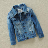 2018 Spring Outwear For Boys And Girls Denim Jacket Coat Children S Clothing Cotton Kids Clothes