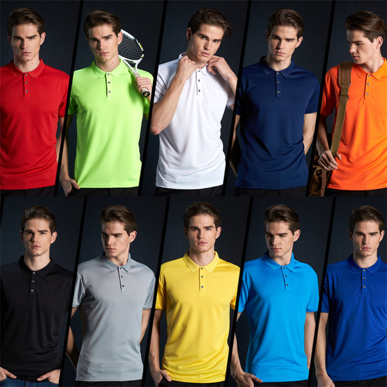 Fast Dry Polo Shirt Men Summer Couple Casual Short Polos Male Fashion Quality Men Women Sport Top Tee 2019 New Fitted Size S-4XL 12