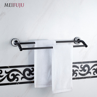Blue And White Porcelain Bathroom Accessories Double Towel Bar Towel Holder Bathroom Hardware Products Towel Rack