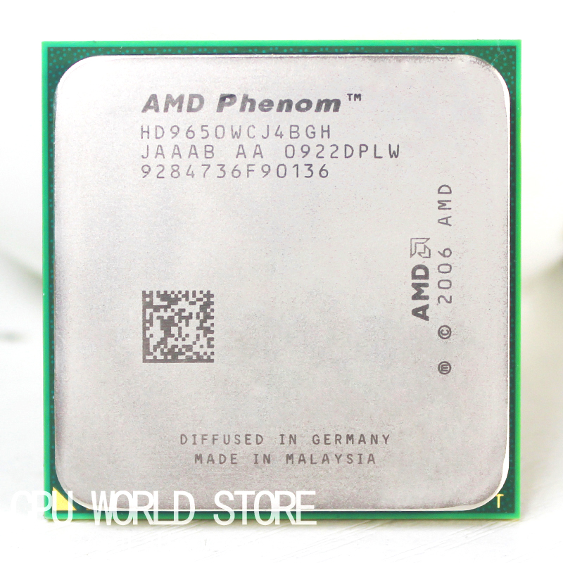 AMD CPU Cache 9650 Processor AM2 Phenom X4 2MB Offical 940-Pin/2mb L2 Original title=