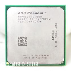 Oficial Original CPU AMD Phenom X4 9650 procesador 2,3G hembra AM2 AM2 +/940 Pin/2 MB L2 caché