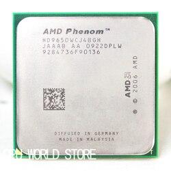 Processador de cpu original offical amd phenom x4 9650 2.3g soquete am2 am2 +/940 pinos/2 mb cache l2
