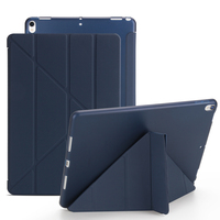 Luxury Ultrathin Business Leather Case For Apple IPad 4 3 2 Slim Foldable Stand Smart Cover