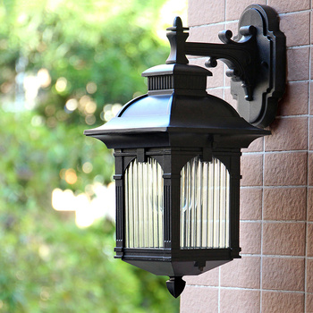 Outdoor waterproof wall lamp led courtyard balcony lamp corridor stair light terrace Chinese garden lights outdoor LU8131730