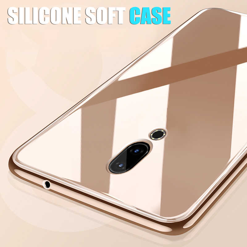 Ultra Dünne Transparent Soft Cover Fall Für Meizu M3 M3S M5 M5S M6 M6S M15 M3 M5 M6 Hinweis 15 15 Lite 16 th Plus TPU Silikon Fall