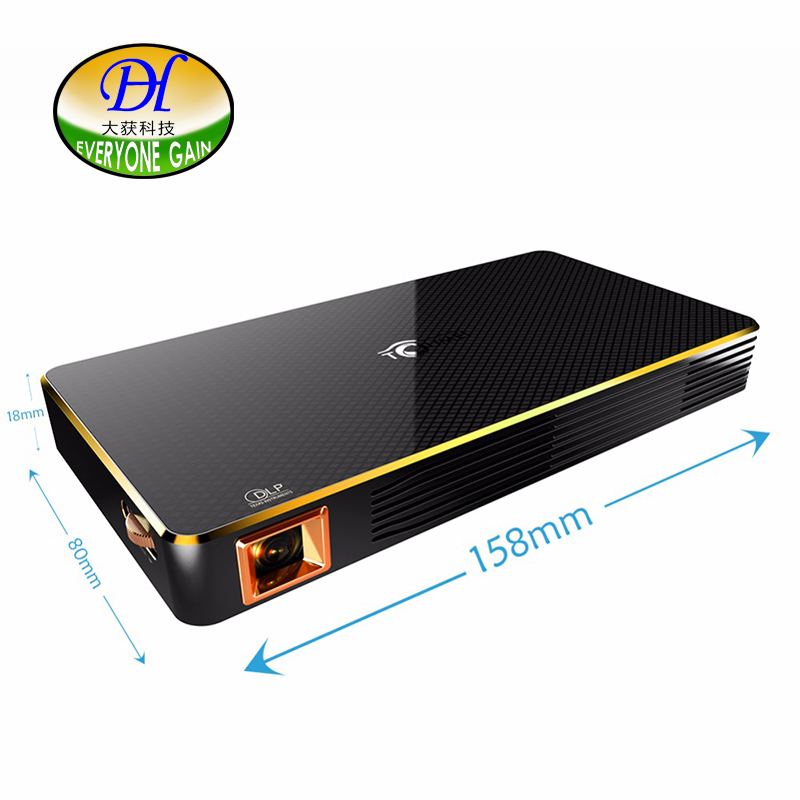 Everyone Gain Projector Smart Android Mini Projector Support Wifi Bluetooth Connection Full Hd Home Theater DH-A800