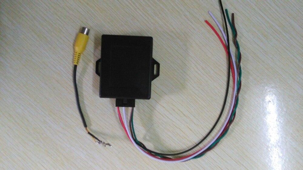Emulador de imagen inversa Original para bmw/activador de cámara de visión trasera para E90 E60 E9X E6X CIC con PDC