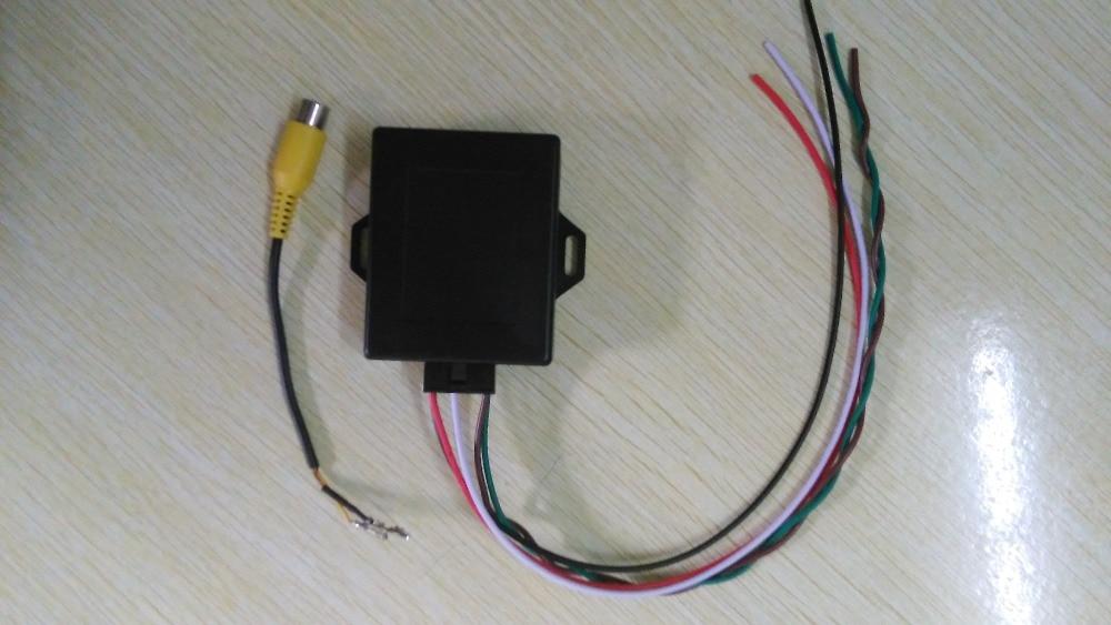 Per bmw Originale immagine rovesciata Emulator/Macchina Fotografica di Retrovisione Activator Per E90 E60 E9X E6X CIC Con PDC