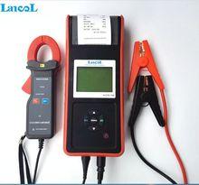 Lancol micro-768a 2000 CCA автомобиля Батарея тестер/цифровой Батарея сопротивление и проводимость тестер с принтером odm/oem Торговые площади