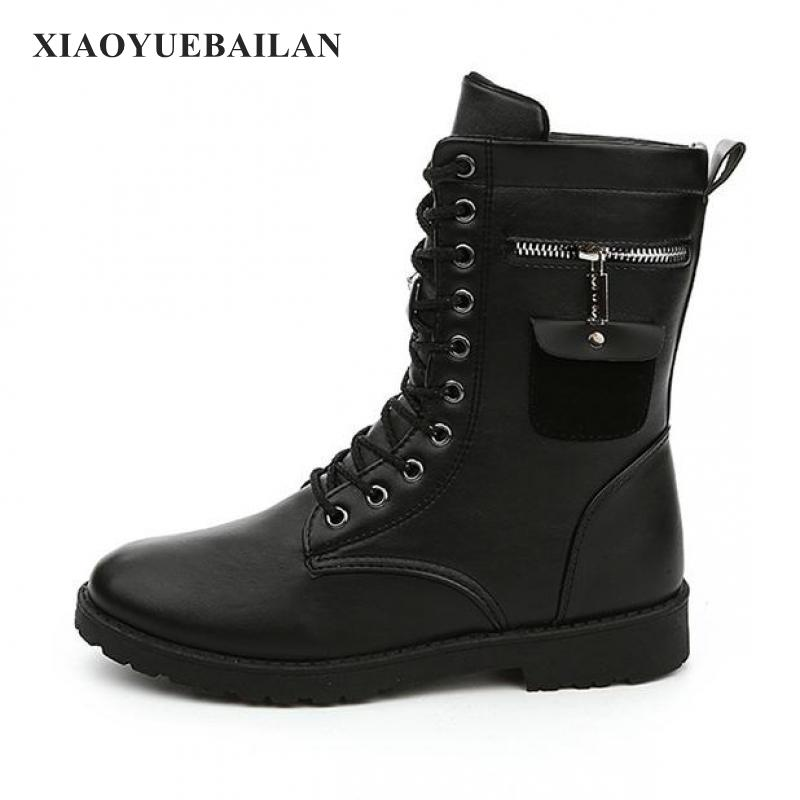 2017 New Trends In Autumn And Winter  Boots Martin Tube dreambox 2017 autumn and winter trends in europe and america woven leather breathable shoes in thick soled sports shoes men