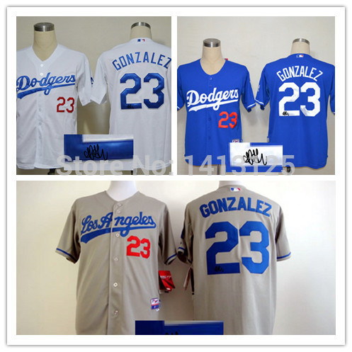 cc99ea82607ef Shop Discount Los Angeles Dodgers Signature Edition Mens Jerseys  23 Adrian  Gonzalez Baseball Jersey