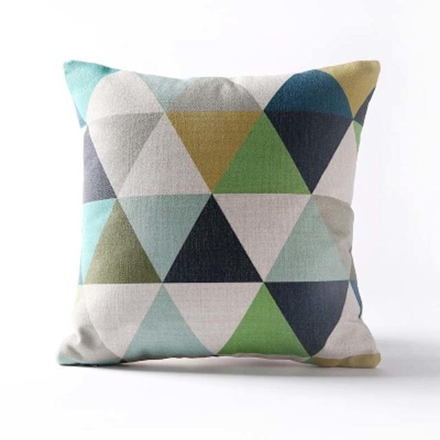 Nordic Geometric Decorative Pillowcase Size: 45CM WT0042 Color: 1