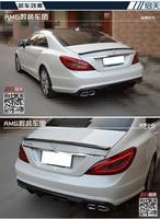 stock Fit for Mercedes Benz CLS W218 CLS300/350 AMG carbon fiber rear spoiler