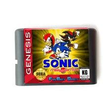 Di Sonic MegaMix 16 bit MD Scheda di Memoria per Sega Mega Drive 2 per SEGA Genesis Megadrive
