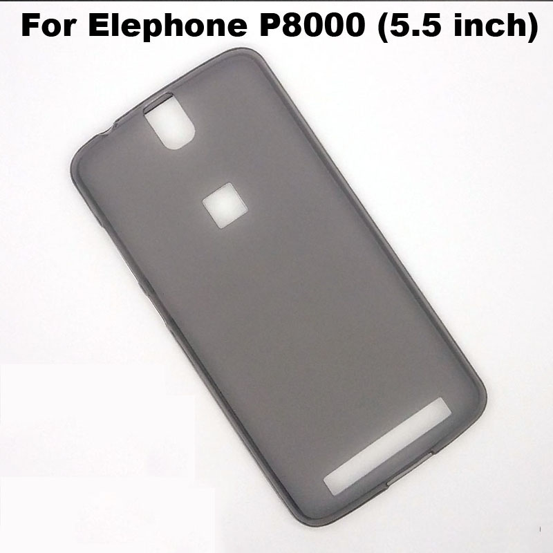 For Elephone P8000 Case Silicon TPU Cover New Protective Soft Back Case Cover For Elephone P 8000 Phone Case (5.5 inch)