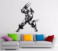 Wolverine Hero Stickers Vinyl Decal Comics Superhero Interior Home Dorm Teen Design Wall Art Murals Bedroom